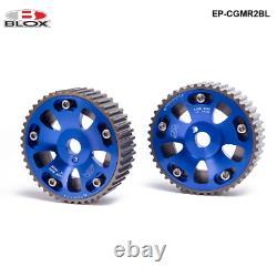 2 Piece Aluminium Camshaft Cam Gear For Toyota Celica / MR2 / 3S-GTE Adjustable