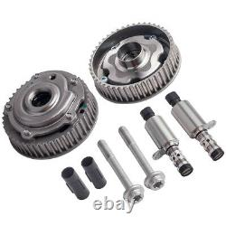 2x Camshaft Adjuster Gear Sprocket & Solenoid Kit for Vauxhall Insignia A18XER