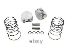 95 Twin Cam Piston Set Standard, for Harley Davidson motorcycles, by Keith Black
