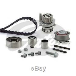AUDI A4 8K 2.0D Timing Belt & Water Pump Kit 2007 on 3138507RMP Set Gates New
