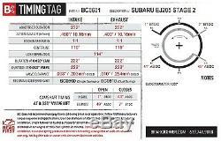 Brian Crower Bc Stage 2 Two 272 Cams Camshafts For Subaru Impreza Wrx Ej20 Ej205