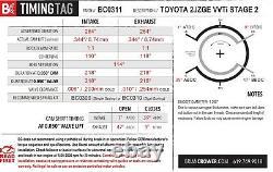 Brian Crower Stage 2 264 Spec Street/Strip For Toyota/Lexus IS300/GS300 2JZGE