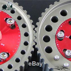 Cam Gear pulley Pair for Mazda MX-5 / MX5 BP6/BP8 NB6/8 camshaft gears red