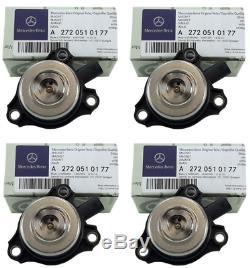 Camshaft Adjuster Magnets For Mercedes C300CL203 A203 S203 W203 Set of 4 Genuine