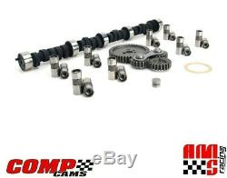 Comp Cams Magnum Camshaft & Lifters Kit with Gear Drive for Chevrolet SBC 350 400