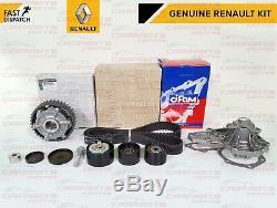 For Clio Sport 172 182 Timing Cam Belt Camshaft Dephaser Pulley Water Pump Kit