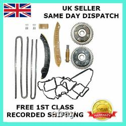 For Mercedes Benz M271 1.8 L Petrol Timing Chain Kit Vvt Camshaft Gears Pulley