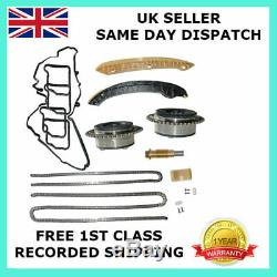 For Mercedes M271 C180 C200 C230 Clc180 Clc200 Timing Chain Kit + Camshaft Gears