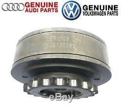 For OES Cam Shaft Camshaft Adjuster Variable Exhaust Cam Sprocket Magnet VW Audi