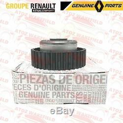For Renault Clio 197 200 Genuine Camshaft Dephaser Pulley Timing Cam Belt Kit