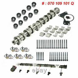 For VW Touareg T5 2.5 TDI Cam Camshaft Lifters Injector Loom Kit BNZ BPC BPD BPE