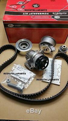 Gates Timing Belt Kit & Water Pump Vw Golf Passat Seat Altea Audi A3 2.0tdi 16v