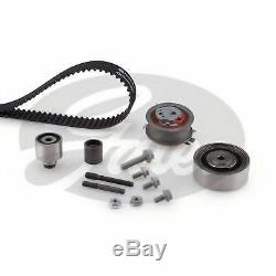 Gates Timing Cam Belt Kit For Audi Seat Skoda VW Tensioner Pulley K025649XS