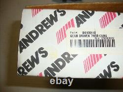 New Andrews Tw-60g Gear Drive Cams For'99-'06 Harley Twin Cam Models