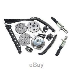 New Timing Chain Kit+Phasers+VVT Valves For 04-08 Ford F150 Lincoln 5.4L Triton
