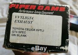 Piper Cams Camshafts for Toyota Celica VVTLI PN VVTLIBP270 GT4 Grind 2ZZ