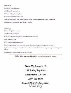 River City Diesel Stage 2 New Billet Camshaft For 6.0L 6.4L Ford Powerstroke