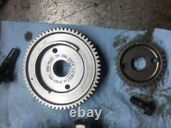 S&S 640 GEAR DRIVE CAMS WITH ALL GEARS FOR'99-'06 HARLEY TC88 with cam plate