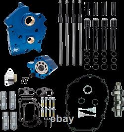 S&S Cycle Black 475 Cam Chest Kit Chain Drive for Oil Cooled Harley M8 310-1012B