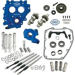 S&S Gear-Drive 509 Cam Chest Upgrade Kit Cams for 1999-2006 Harley Twin Cam