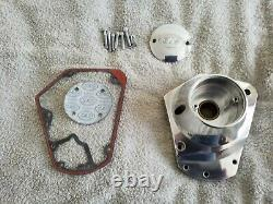 S&S cycle billet cam cover/ nose cone for Harley Davidson big twin engine