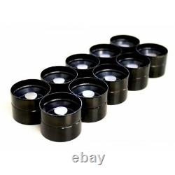 Set of 10 Black Top INA Hydraulic Lifters for VW Volkswagen 2.5 TDi PD
