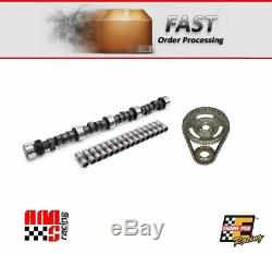 Stage 1 Camshaft & Lifters with Timing Set for Chevrolet SBC 350 5.7L 368/398 Lift