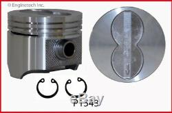 Stage 1 Master Rebuild Overhaul Kit with Flat Top Pistons for Ford FE 390