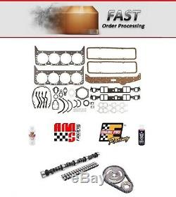 Stage 2 HP Camshaft Install Kit for 1967-1979 Chevrolet SBC 350 5.7 420/443 Lift