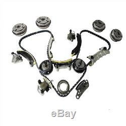 Timing Chain Kit W. 4 Camshaft Cam Gears for Cadillac CTS, Chevy Equinox, GMC 3.0