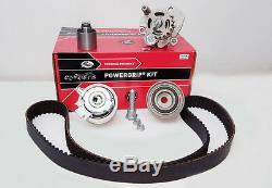 VW Group 2.0 TDI 16v Engines GATES KP25607XS-1 Timing Belt Kit & Water Pump